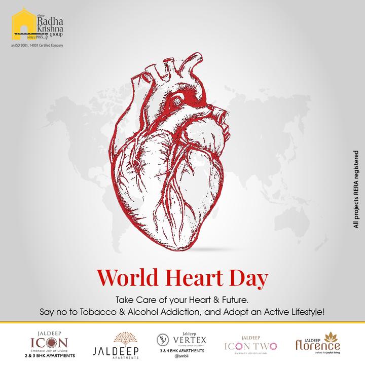 Radha Krishna Group,  WorldHeartDay, WorldHeartDay2021, HeartHealth, CardiacHealth, HeartDay, ShreeRadhaKrishnaGroup, RadhaKrishnaGroup, SRKG, Ahmedabad, RealEstate