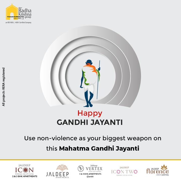 Radha Krishna Group,  MahatmaGandhi, HappyGandhiJayanti, HappyMahatmaGandhi, GandhiJayanti2021, Bapu, FatherOfNation, ShreeRadhaKrishnaGroup, RadhaKrishnaGroup, SRKG, Ahmedabad, RealEstate
