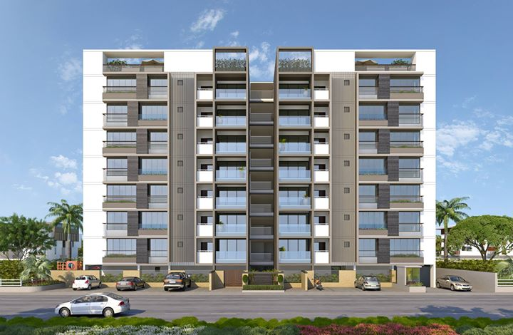 Upcoming project of 3 & 4bhk lux appatments @ ambli