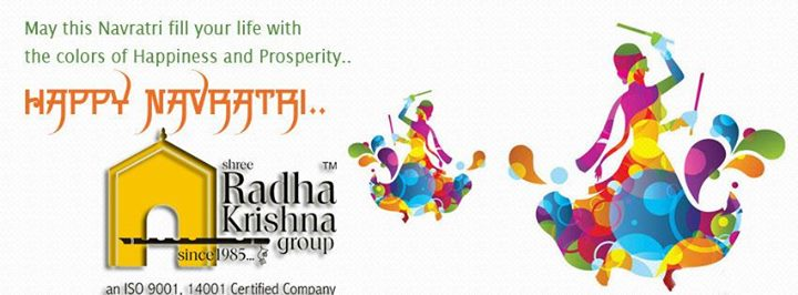 Radha Krishna Group,  Navratri, FestivalWishes, ShreeRadhaKrishnaGroup, Jaldeep, jaldhara, Happiness, Prosperity