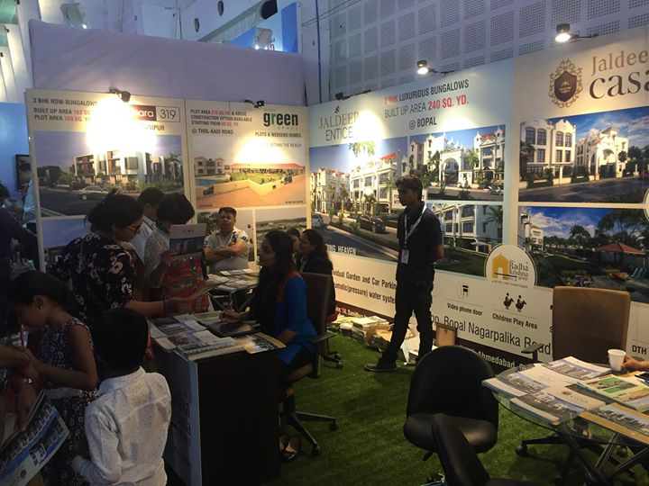 We thank all the visitors who took interest in our projects, We have received a very nice response here are some glimpse of Gihed Property Show  #GIHED #PROPERTYSHOW2015 #ShreeRadhaKrishnaGroup #JaldeepVertex #JaldeepEntice #Jaldhara319 #JaldeepCasa