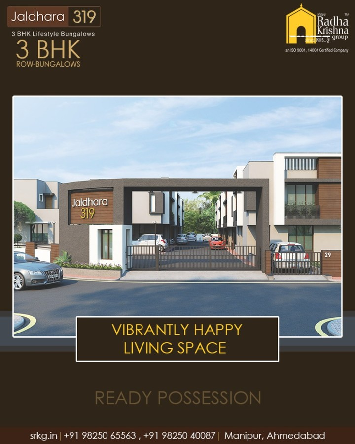 Where the joy of family living and community harmony blend together for an ideal lifestyle.  #Jaldhara319 #3BHKRowBungalows #ReadyPossession #LuxuryLiving #ShreeRadhaKrishnaGroup #Manipur #Ahmedabad