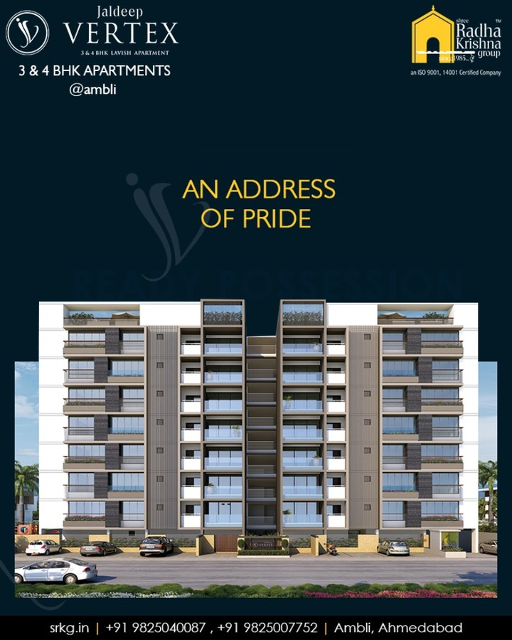 Radha Krishna Group,  amenities, comfortable, WorkOfArtResidence, Ambli, JaldeepVertex, ShreeRadhaKrishnaGroup, Ahmedabad, RealEstate, LuxuryLiving