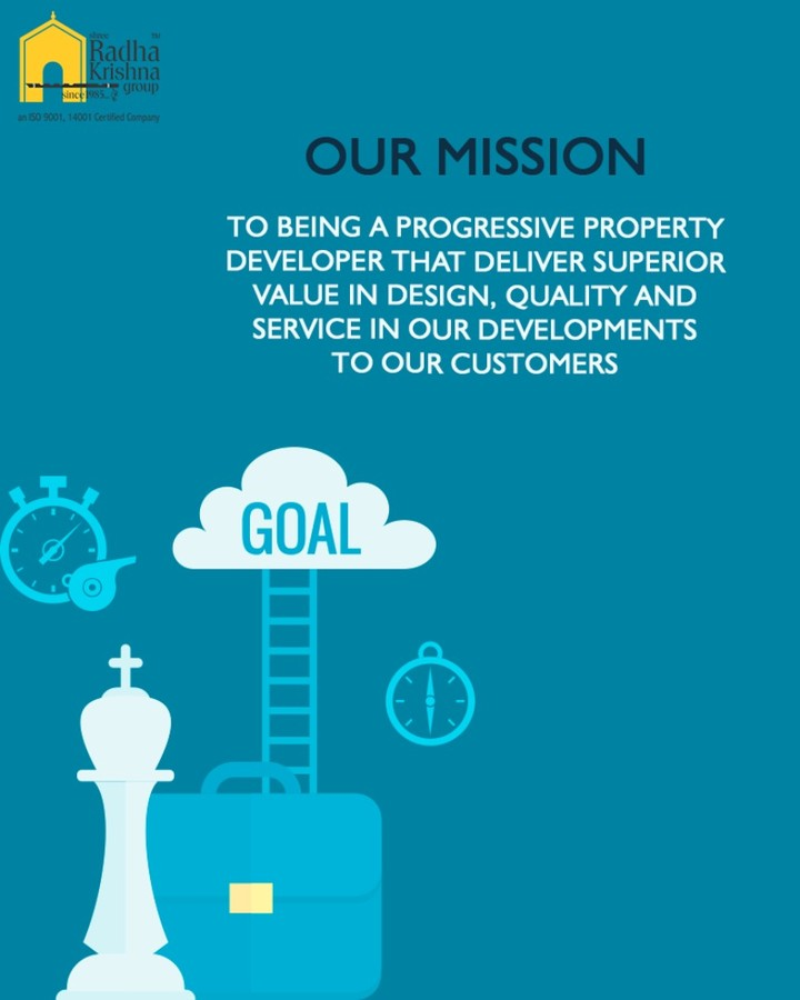 :: Our Mission:: #ShreeRadhaKrishnaGroup #Ahmedabad #RealEstate