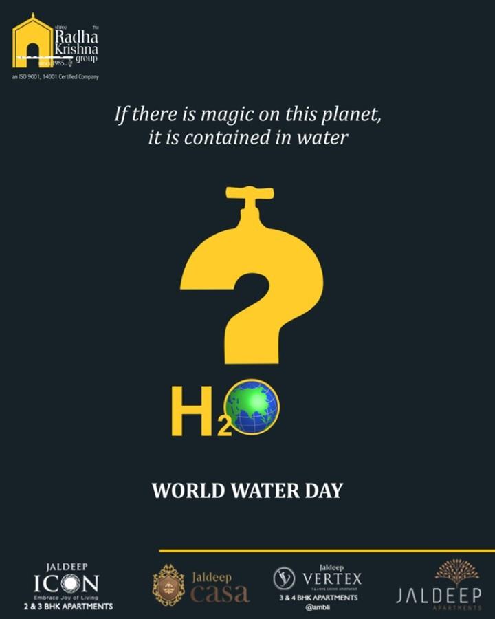 Radha Krishna Group,  WorldWaterDay, WaterDay, SaveWater, WaterDay2019, ShreeRadhaKrishnaGroup, Ahmedabad, RealEstate, LuxuryLiving
