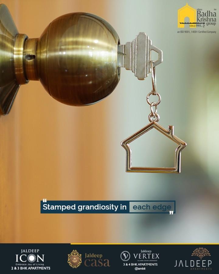 Invest to unlock your door towards an opulent lifestyle!  #ShreeRadhaKrishnaGroup #Ahmedabad #RealEstate #LuxuryLiving #Gujarat #India