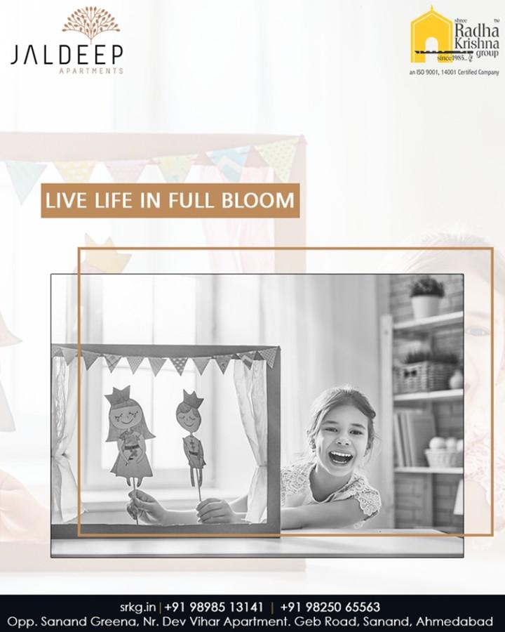 Live life in full bloom at the benevolent spaces of Jaldeep Apartments!  #AnAssetToCelebrate #GoodInvestment #AestheticallyAppealingNAlluring #JaldeepApartments #Sanand #ShreeRadhaKrishnaGroup #Ahmedabad #RealEstate #LuxuryLiving