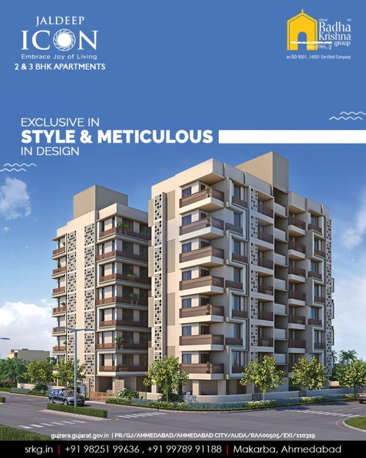 Radha Krishna Group,  JaldeepIcon, Amenities, LuxuryLiving, ShreeRadhaKrishnaGroup, Ahmedabad, RealEstate, SRKG, IconicApartments, IconicLiving