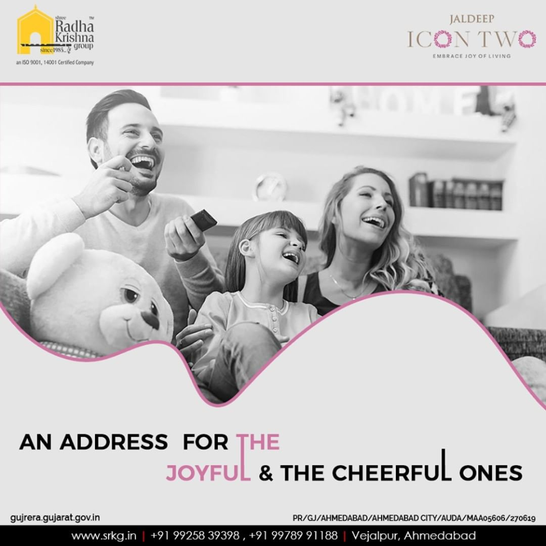 Live a hassle-free life and catch-up with life at #JaldeepIcon2.  #Amenities #LuxuryLiving #ShreeRadhaKrishnaGroup #Ahmedabad #RealEstate #SRKG #IconicApartments #IconicLiving