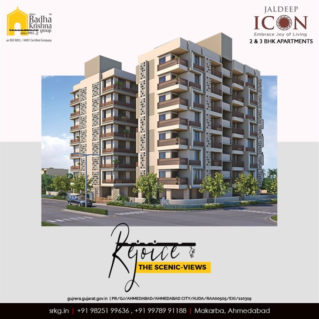 Radha Krishna Group,  JaldeepIcon, Icon2, LuxuryLiving, ShreeRadhaKrishnaGroup, Ahmedabad, RealEstate, SRKG