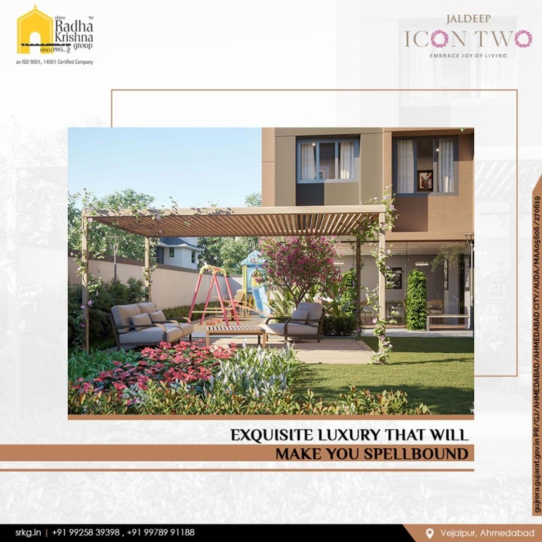 Reside in a spellbinding environs and enjoy the grandeurs of a prosperous life.  #JaldeepIcon2 #Icon2 #Vejalpur #LuxuryLiving #ShreeRadhaKrishnaGroup #Ahmedabad #RealEstate #SRKG