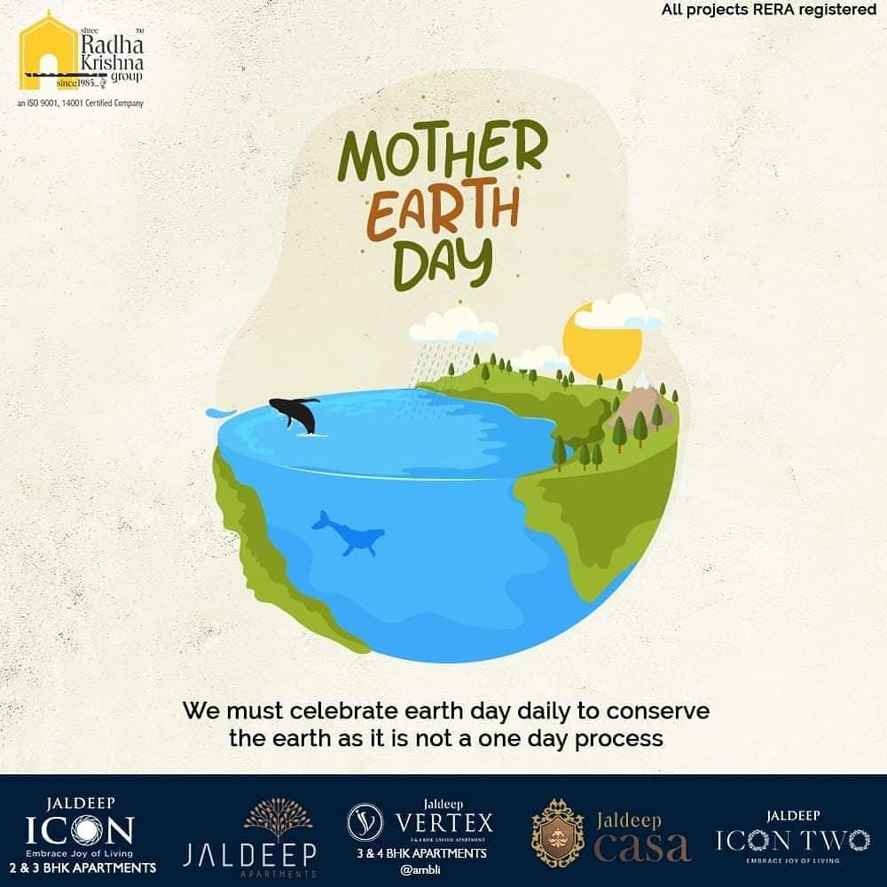 Radha Krishna Group,  WorldEarthDay, WorldEarthDay2020, EarthDay, ShreeRadhaKrishnaGroup, Ahmedabad, RealEstate