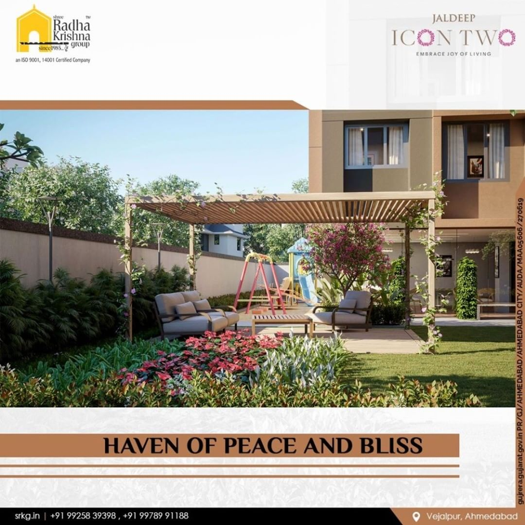 Explore a world without limits with #JaldeepIconTwo and Discover pure affluence with blissful seating areas.  #Icon2 #Vejalpur #LuxuryLiving #ShreeRadhaKrishnaGroup #Ahmedabad #RealEstate #SRKG