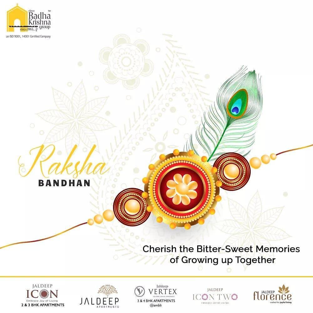 Radha Krishna Group,  Rakshabandhan2020, Rakhi2020, Rakhi, Rakshabandhan, HappyRakshabandhan, IndianFestivals, Celebrations, Festivities, ShreeRadhaKrishnaGroup, Ahmedabad, RealEstate, SRKG