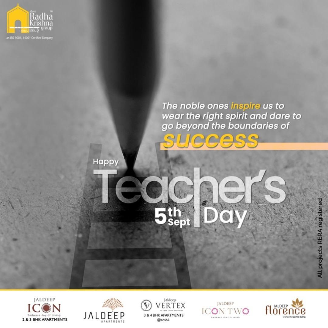 Radha Krishna Group,  HappyTeachersDay, TeachersDay, Guru, TeachersDay2020, ShriSarvepalliRadhakrishnan, ShreeRadhaKrishnaGroup, Ahmedabad, RealEstate, SRKG