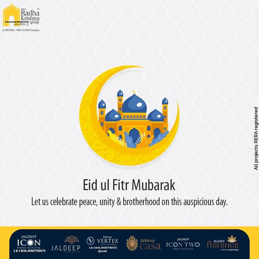 Radha Krishna Group,  EidMubarak, EidAlFitr, EidMubarak2021, ShreeRadhaKrishnaGroup, RadhaKrishnaGroup, SRKG, Ahmedabad, RealEstate