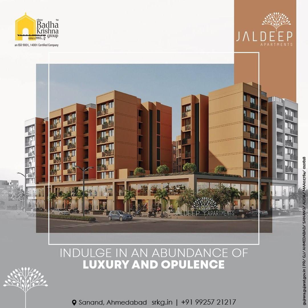 Radha Krishna Group,  JaldeepApartments, LuxuryLiving, ShreeRadhaKrishnaGroup, Ahmedabad, RealEstate, SRKG