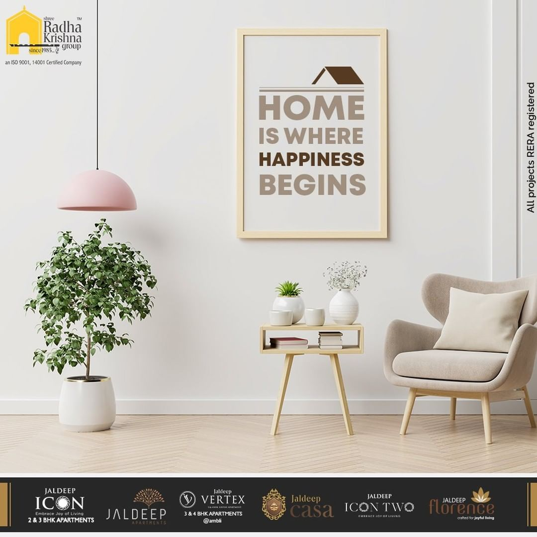 Encapsulated with all the luxurious amenities and facilities your new home is where your happiness lies. Book your Dream Abode Today.   #LuxuryLiving #ShreeRadhaKrishnaGroup #RadhaKrishnaGroup #SRKG #Ahmedabad #RealEstate