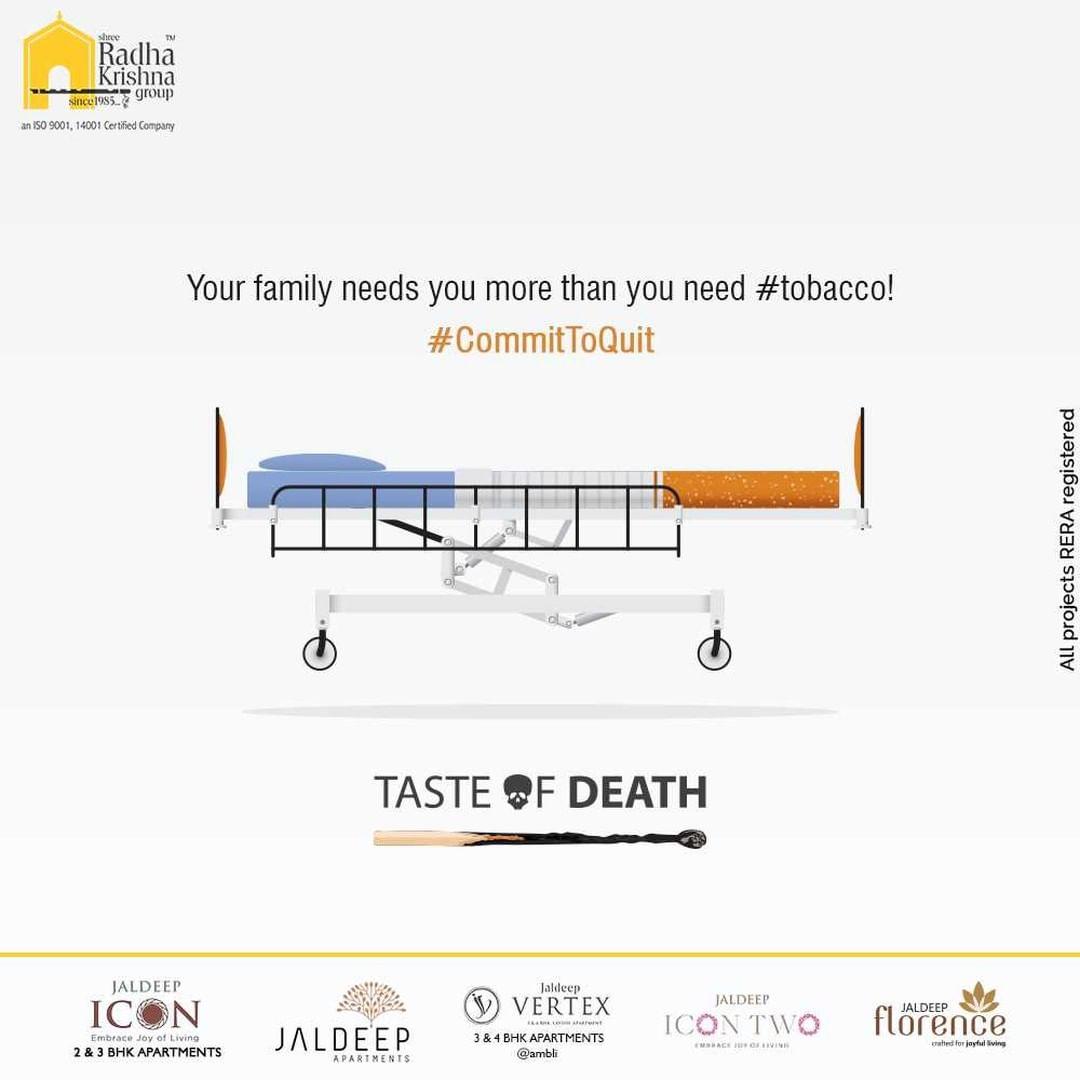 Radha Krishna Group,  tobacco!, WorldNoTobaccoDay, WorldNoTobaccoDay2021, SayNoToTobacco, ShreeRadhaKrishnaGroup, RadhaKrishnaGroup, SRKG, Ahmedabad, RealEstate
