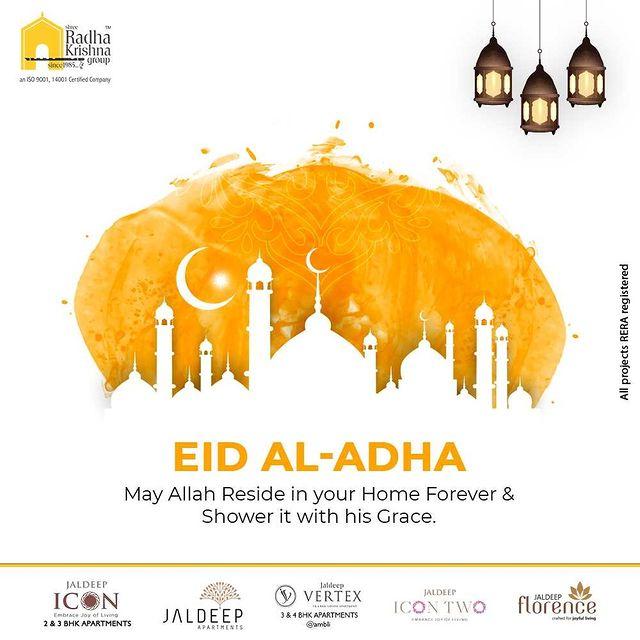 Radha Krishna Group,  EidAlAdha2021, EidMubarakh, ShreeRadhaKrishnaGroup, RadhaKrishnaGroup, SRKG, Ahmedabad, RealEstate
