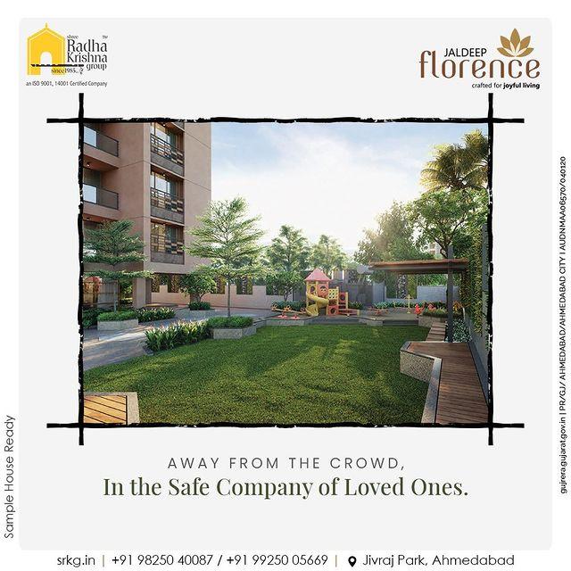 Radha Krishna Group,  JaldeepFlorence, Amenities, LuxuryLiving, RadhaKrishnaGroup, ShreeRadhaKrishnaGroup, JivrajPark, Ahmedabad, RealEstate, SRKG