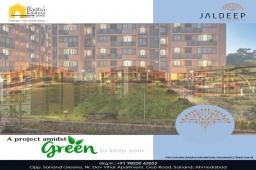 Do not just dream your life, live your dream-life!  #JaldeepApartment is a project amidst green to keep your days calm and serene.  #JaldeepApartment #AlluringApartments #ExpanseOfElegance #LuxuryLiving #ShreeRadhaKrishnaGroup #Ahmedabad #RealEstate #SRKG