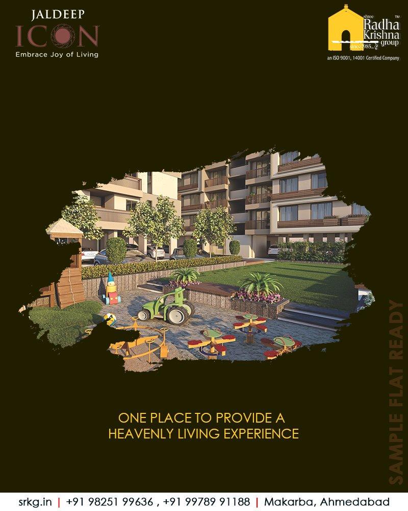 Radha Krishna Group,  SampleFlatReady, 2and3BHKApartments, LuxuryLiving, ShreeRadhaKrishnaGroup, Makarba, Ahmedabad