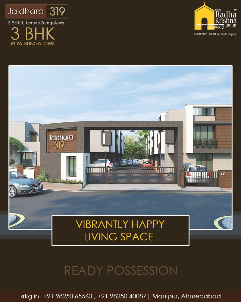 Radha Krishna Group,  Jaldhara319, 3BHKRowBungalows, ReadyPossession, LuxuryLiving, ShreeRadhaKrishnaGroup, Manipur, Ahmedabad