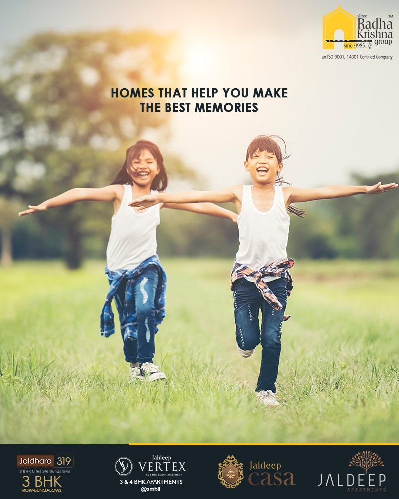 It's our endeavour to make the best homes for you!  #ShreeRadhaKrishnaGroup #Ahmedabad #RealEstate https://t.co/Z6vX3EryIk
