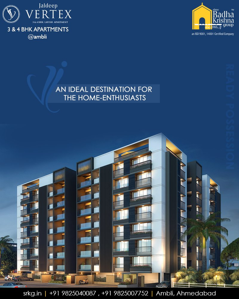 Radha Krishna Group,  JaldeepVertex., ContemporaryNClassy, Ambli, ShreeRadhaKrishnaGroup, Ahmedabad, RealEstate, LuxuryLiving
