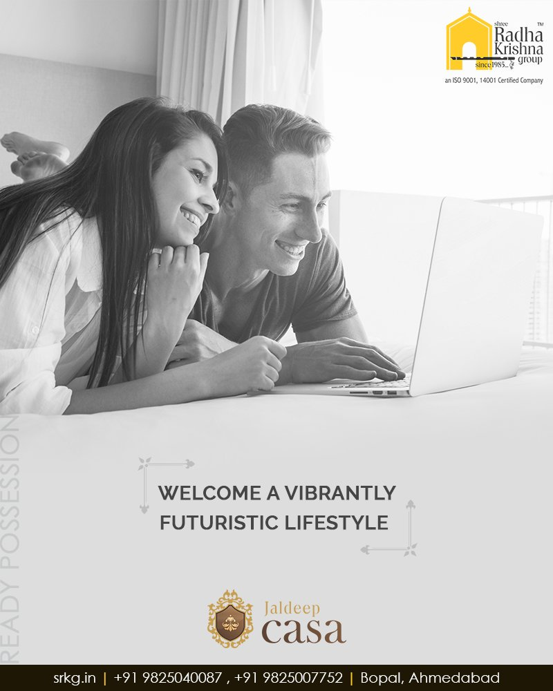 Radha Krishna Group,  JaldeepCasa, WorkOfArtResidence, Bopal, ShreeRadhaKrishnaGroup, Ahmedabad, RealEstate, LuxuryLiving