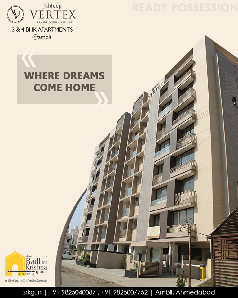 Radha Krishna Group,  JaldeepVertex., DreamsComeHome, AnAssetToCelebrate, NewYearResolution, GoodInvestment, YourHome, ShreeRadhaKrishnaGroup, Ahmedabad