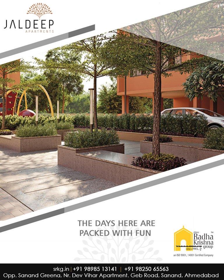 Radha Krishna Group,  JaldeepApartment., LetChildrenBeChildren, ChildrenPlayArea, ShreeRadhaKrishnaGroup, Abodes, LuxuryLiving, Gujarat, India, RealEstate, Ahmedabad