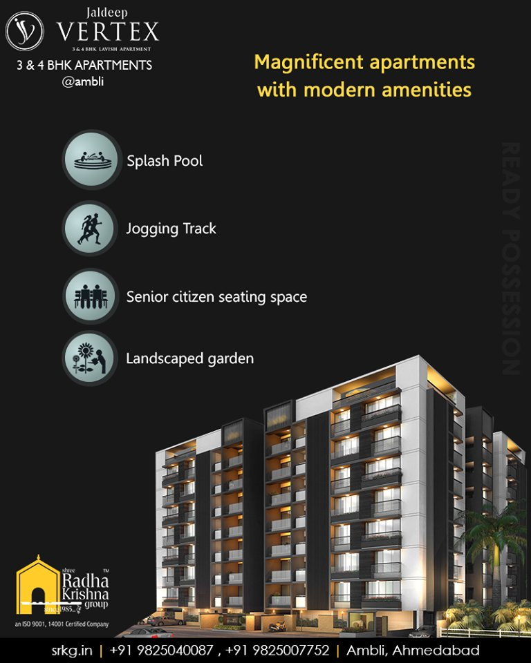 Aspiring a splendid culture of living elegance, every apartment at #JaldeepVertex is crafted by keeping in mind your comfort and convenience.  Book your space and come home to a world of amenities. https://t.co/bBaO6a2NPN