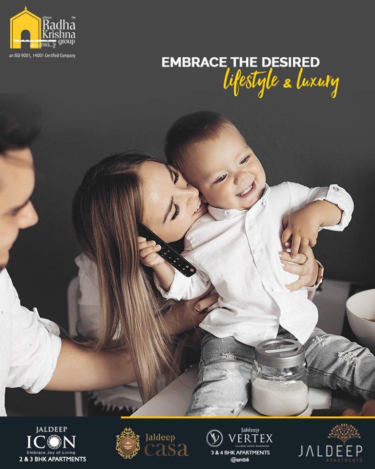 Explore the blissful living and embrace the desired lifestyle brimming with luxury with Shree Radha Krishna Group  #WorldOfHappiness #WorkOfArtResidence #ShreeRadhaKrishnaGroup #Ahmedabad #RealEstate #LuxuryLiving #JaldeepCasa #JaldeepApartment #JaldeepIcon https://t.co/Ep0D3rOQ5i