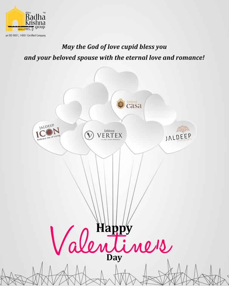 May the god of love cupid bless you and your beloved spouse with the eternal love and romance, Happy Valentines Day!  #WorldOfHappiness #AnAssetToCelebrate #Bopal #ShreeRadhaKrishnaGroup #Ahmedabad #RealEstate #LuxuryLiving #ValentinesDay #Valentines #DayOfLove #ValentinesDay2019 https://t.co/TJ6uv2nnAr