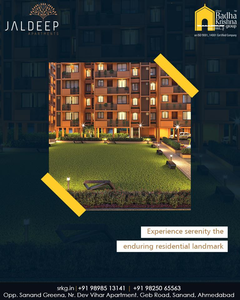 Live your way in your space! Experience serenity at the enduring residential landmark called #JaldeepApartment.   #AnAssetToCelebrate #GoodInvestment #AestheticallyAppealingNAlluring #JaldeepApartments #Sanand #ShreeRadhaKrishnaGroup #Ahmedabad #RealEstate #LuxuryLiving https://t.co/T8o8ij3rLm