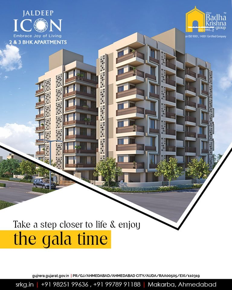 Take a step closer to life & enjoy gala time at living spaces that are designed to maximize your urban living experience  ReadMore:https://t.co/ca6xMu14Qv  #Amenities #LuxuryLiving #ShreeRadhaKrishnaGroup #Ahmedabad #RealEstate #SRKG #IconicApartments #IconicLiving https://t.co/HaRqkF2JaI