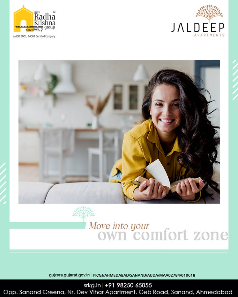 Re-discover and re-invent yourself by spending more me-time at your own comfort zone.  #AlluringApartments #ExpanseOfElegance #LuxuryLiving #ShreeRadhaKrishnaGroup #Ahmedabad #RealEstate #SRKG https://t.co/IXrCbio2iK