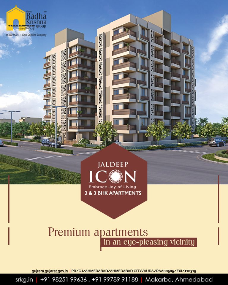 Let your every-day lifestyle be an extravagant affair at the premium apartments located in an eye-pleasing vicinity.  #Amenities #LuxuryLiving #ShreeRadhaKrishnaGroup #Ahmedabad #RealEstate #SRKG #IconicApartments #IconicLiving https://t.co/EDDvfhGWk7