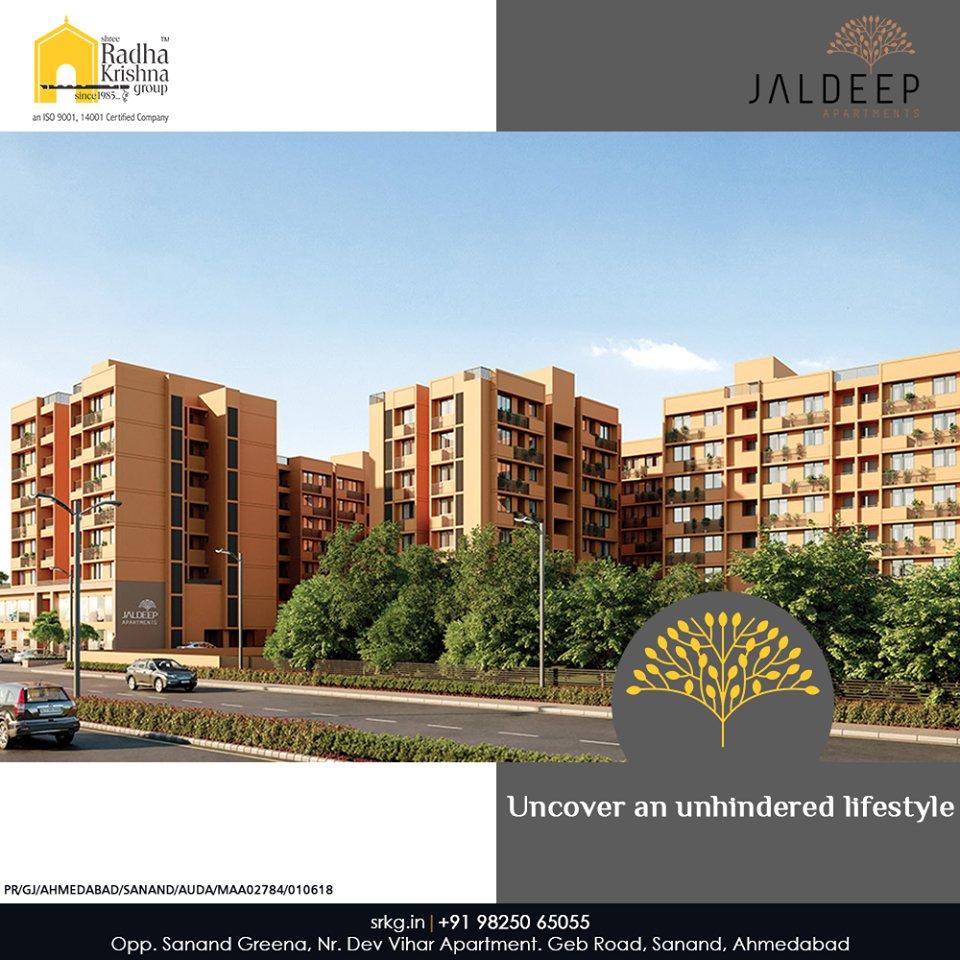 Radha Krishna Group,  JaldeepApartment., AlluringApartments, AffordableLuxury, ExpanseOfElegance, LuxuryLiving, ShreeRadhaKrishnaGroup, Ahmedabad, RealEstate, SRKG