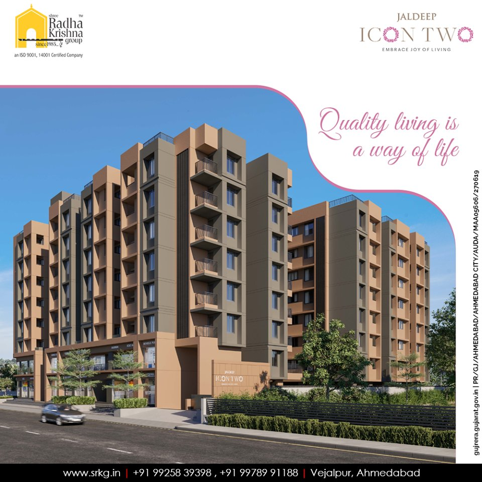 Let freshness get infused with your everyday life at #JaldeepIcon2.  #Amenities #LuxuryLiving #ShreeRadhaKrishnaGroup #Ahmedabad #RealEstate #SRKG #IconicApartments #IconicLiving https://t.co/mrolMo5QBy