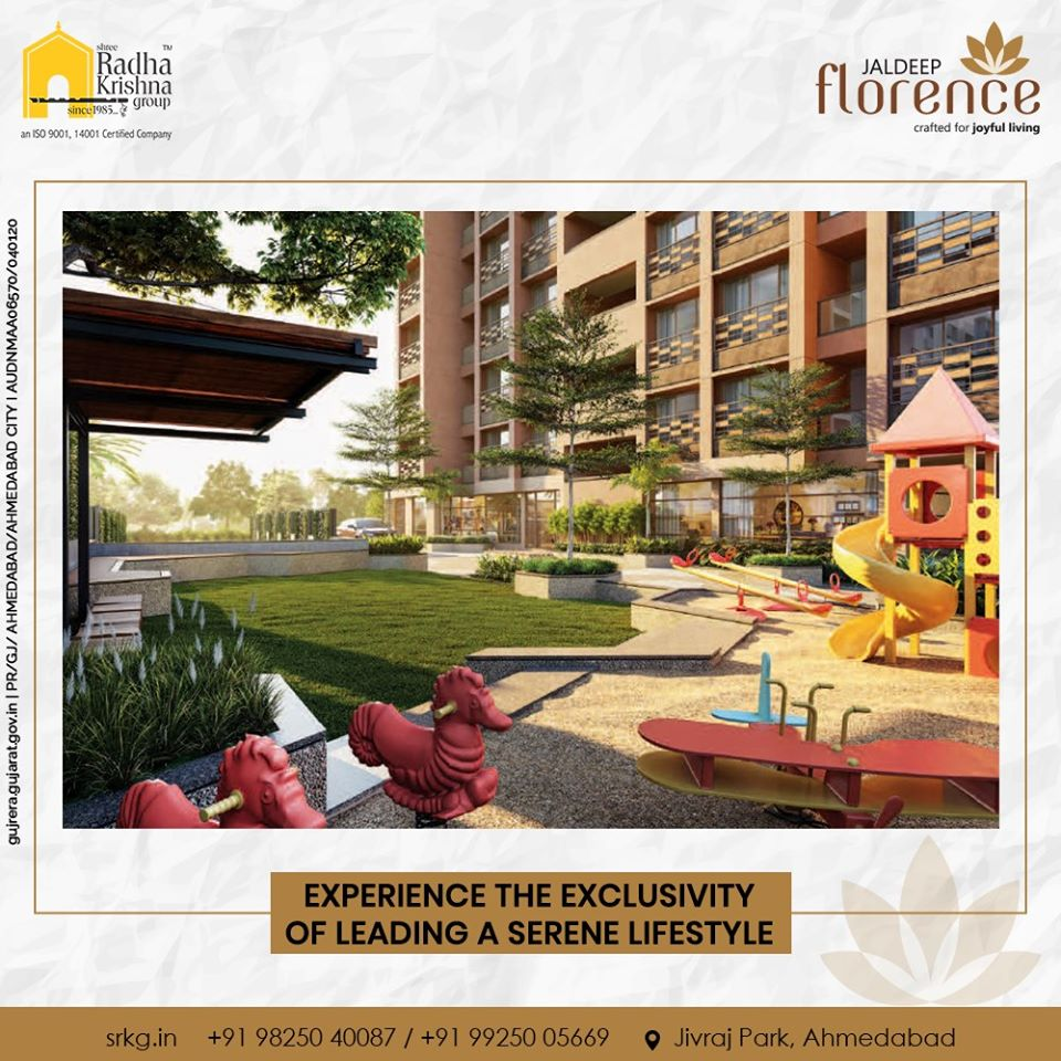 Let your loved ones reside closer to nature and enjoy experiencing the exclusivity of leading a serene lifestyle.  #JaldeepFlorence #Launchingsoon #LuxuryLiving #ShreeRadhaKrishnaGroup #Ahmedabad #RealEstate #SRKG https://t.co/lBjkPTVF8C