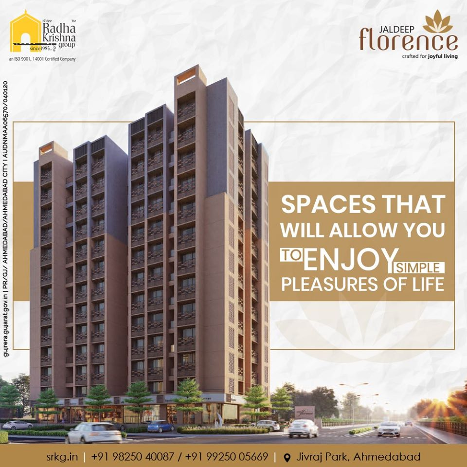Looking forward to booking a dream house that will offer you a unique living experience?  Consider your search over at #JaldeepFlorence.  #LuxuryLiving #ShreeRadhaKrishnaGroup #Ahmedabad #RealEstate #SRKG https://t.co/64HKCVWqdy