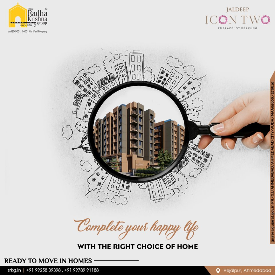 Jaldeep Icon Two is a beautiful world without limits where architectural design, urban luxury, luxurious lifestyle, and nature all come together.  ReadMore:https://t.co/Ea8iSCJdJ3  #JaldeepIcon2 #Icon2 #Vejalpur #LuxuryLiving #ShreeRadhaKrishnaGroup #Ahmedabad #RealEstate #SRKG https://t.co/iJ3T3MgiBY