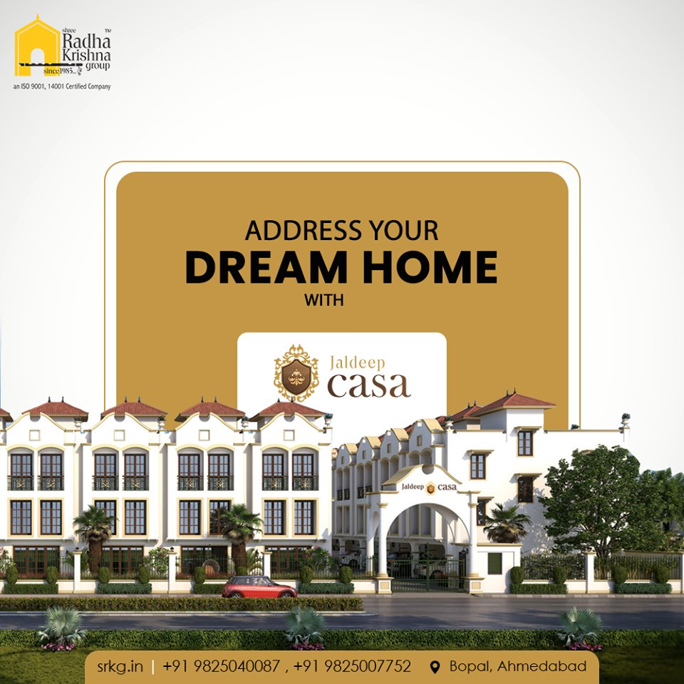 Unbox your dream home at the fastest developing Area, In Bopal.  #JaldeepCasa #WorkOfHappiness #Bopal #Amenities #LuxuryLiving #ShreeRadhaKrishnaGroup #Ahmedabad #RealEstate https://t.co/aez5PcoPrm