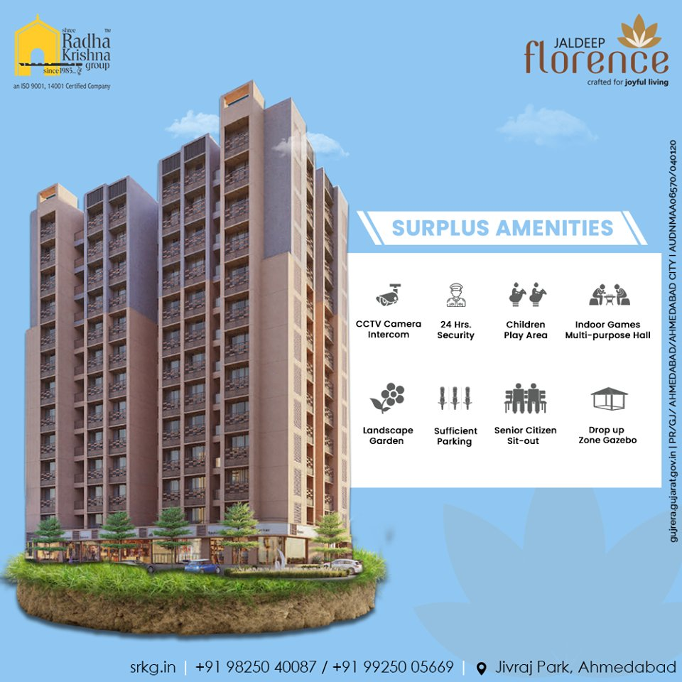 Radha Krishna Group,  JaldeepFlorence, Launchingsoon, LuxuryLiving, RadhaKrishnaGroup, ShreeRadhaKrishnaGroup, Ahmedabad, RealEstate, SRKG