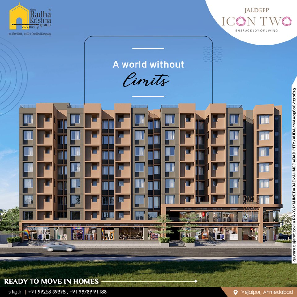 Jaldeep Icon Two is a beautiful world without limits where architectural design, urban luxury, luxurious lifestyle, ReadMore:https://t.co/OBb92Pl1im  #JaldeepIconTwo #IconTwo #Vejalpur #Makarba #LuxuryLiving #ShreeRadhaKrishnaGroup #RadhaKrishnaGroup #SRKG #Ahmedabad #RealEstate https://t.co/o5vStigGTW
